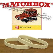 MATCHBOX TRACKS - 1 PAIR - FOR NO.35 SNOWTRAC TRACTOR