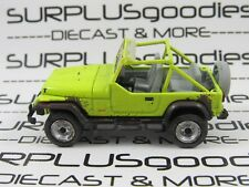 GREENLIGHT 1:64 Scale LOOSE Collectible Muddy 1991 JEEP WRANGLER YJ Diorama Car