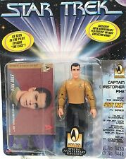 Captain CHRISTOPHER PIKE ~ Star Trek ~ 30 Year Anniversary ~Playmates 1996 ~ MOC