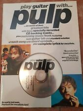 Play Guitar With Pulp Includes backing CD and sent UK fastship - VGC