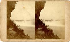 USA, Niagara Falls Vintage stereocard print Tirage albuminé  11x18  1900