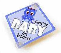 Baby On Board Cheeky Monkeys On Board Green Window Sucker Sign