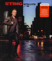 STING - 57TH & 9TH - SUPER DELUXE     - CD+DVD NEU