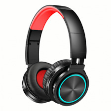 Picun B12 Foldable Bluetooth 5.0 Headphone Rgb Light Strong Bass Volume Control