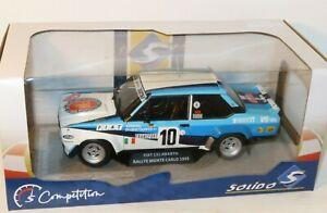 1/18 Fiat 131 Abarth Rally Monte Carlo 1980 #10 W.Rohrl - World Champion