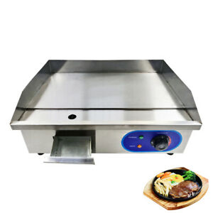 Grillplatte Gastro Griddleplatte Bratplatte Elektro Grillplatte Elektrische 3 KW