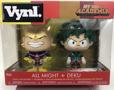 Funko Vynl: My Hero Academia - All Might & Deku 2 Pack Toy, Multicolor New