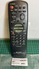 GENUINE SHARP G0076AJ  Remote Control
