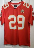NIKE NFL Kansas City Chiefs ERIC BERRY #29 Football Compression Youth Jersey XL