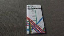 1974 New York City Subway Map Guide MOMA Massimo Vignelli Design
