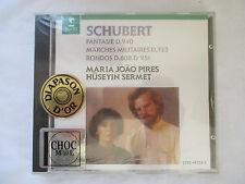 SCHUBERT WORKS FOR 2 PIANOS - MARIA JOAO PIRES & HUSEYIN SERMET CD  - BRAND NEW