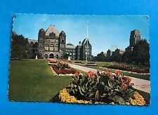 Parliament Buildings Ontario Canada Postcard Queen's Park Toronto Posted 1982
