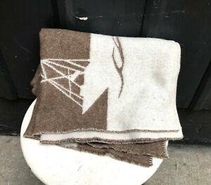 Alafoss of Iceland wool sailboat blanket