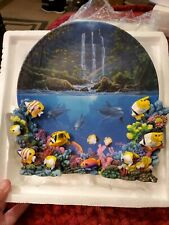 The Hamilton Collection. Peaceful Tropics Plate