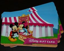 New 2016 Walt Disney World Mickey Minnie Kissing Booth Gift Card No Cash Value
