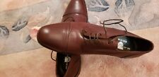 Hand Made Italy Black Brown 1826 Oxfords Shoes Sizes 11.5