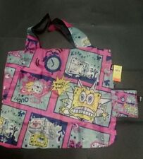 Loqi Nickelodeon foldable eco Shopping Bag shoulder bag- New  -special edition
