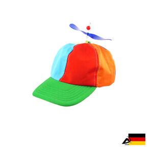BASEBALLCAP mit PROPELLER verstellbar Basecap Kappe Käppie LGBT Pride hat ABAV
