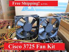 Cisco 3725 Router Replacement Fan Kit (2x new fans), CISCO3725-FANKIT=
