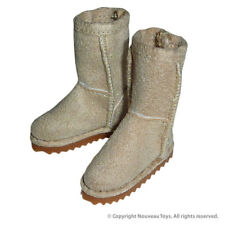 1/6 Phicen, Hot Toys, ZC, Kumik & Nouveau Toys - Female Beige Skin Leather Boots