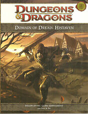 Dungeons & Dragons RPG  Domain of Dread: Histaven 4th Ed.  14  pg.