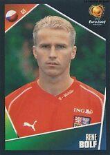 N°275 RENE BOLF # REP.CZECH STICKER VIGNETTE PANINI EURO 2004