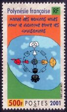 2001 Dialogue among civilizations - French Polynesia - isolated stamp