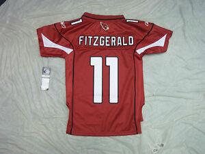 LARRY FITZGERALD #11 ARIZONA CARDINALS YOUTH REEBOK NFL PREMIER JERSEY