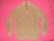 Jersey Algodon Grueso Marron ESPRIT Cotton Troyer Jumper M Toffee 105EE2I011