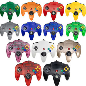 Wired Controller Joystick For Nintendo 64 N64 Video Game Console Classic System
