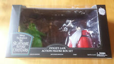 NBX Deluxe Black Lighted Oogie's Lair Action Figure Box Set - SDCC 2020