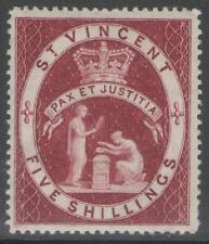 St Vincent and Grenadines Victoria Era (1840-1901) Stamps