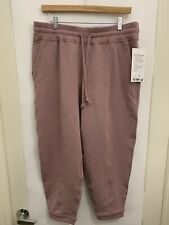 Lululemon At My Leisure Jogger NWT Size 12 HTMM 7/8 Modal French Terry Pockets