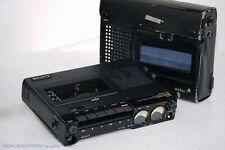 SONY TC-D5 Pro II Portable Profi Reporter Cassettedeck! Serviced+1J.Garantie!