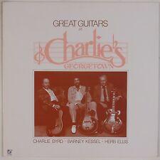 CHARLIE BYRD, BARNEY KESSEL: Great Guitars Charlie's CONCORD Jazz LP NM