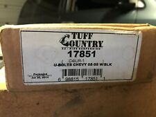 "Tuff Country U-Bolts #17851/ '88-'98 Chevy 1500/ Lifted/ 3"" Blocks"