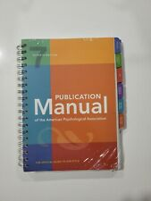 Publication Manual of The American Psychological Association (2019, Paperback)