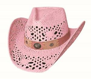 NEW Bullhide MonteCarlo Pink PURE COUNTRY Western Toyo Straw Cowboy Hat