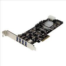 StarTech.com 4 Port Dual Bus PCI Express (PCIe) SuperSpeed USB 3.0 Card Adapter