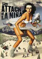 Attack Of La Nina - Extreme Ski DVD  By Matchstick Productions Skiing MSP