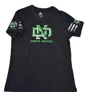 adidas Youth Girls North Dakota Fighting Hawks Shirt NWT M(10-12), L(14)