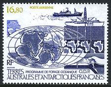 FSAT TAAF C97, MNH. Ocean Drilling Program. Ship, Map, 1987
