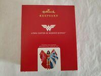 Hallmark 2020 Lynda Carter as Wonder Woman Keepsake Christmas Ornament