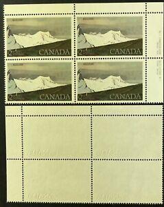 CANADA 1979 # 727 - $2 KLUANE NATIONAL PARK DEFINITIVE- UR PLATE #1 BLOCK - MNH