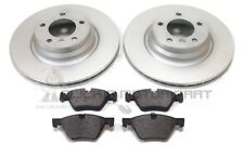 BMW 1 SERIES 123d 2007-2012 E82 + E87 FRONT 2 BRAKE DISCS AND PADS SET NEW