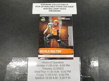 2016/17 CRICKET TAP N PLAY SILVER GAME CARD NO.164 NICOLE BOLTON