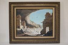 SALE! Gordon G. Pond oil painting, Listed American Artist,  Anasazi , 1971