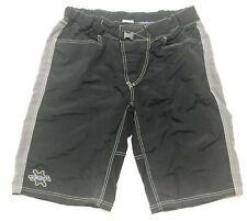 Kona Mens Bike Shorts Size 36 Black Gray Biking Cycling Mountain Unlined 1502