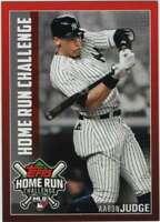 2019 Topps Home Run Challenge Codes #HRC-6 Aaron Judge NM-MT Yankees ID:29032