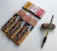 Vintage Eberhard Faber Colorbrite 3110 Mechanical Pencil 2mm Lead Holder USA